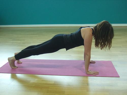 Kumbhakasana (Plank pose)