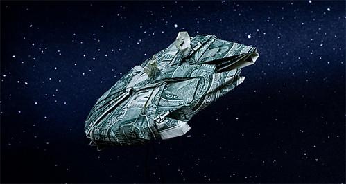 Star Wars Money Origami - Star Wars Crafts - photo#24