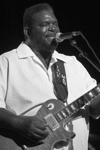 2009-0821_Blues_at_State_Theatre_B&W-414 by NoVARon