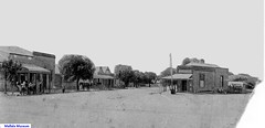 Mallala Main Street c1895, 2 Wasleys Rd on right