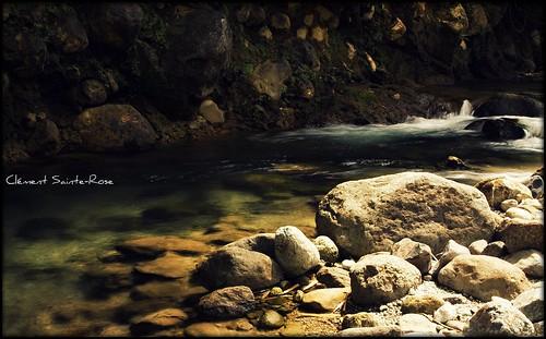eau chute picnik rivière