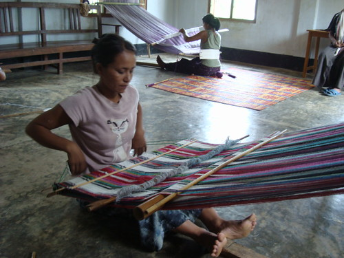 UNHCR News Story: Bangladesh: Myanmar refugees weave together self-reliance and hope