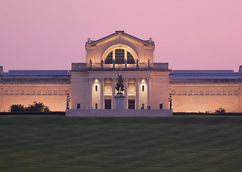Art Museum, in Forest Park, Saint Louis, Missouri, USA