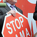 Small photo of Stop NAMA protest