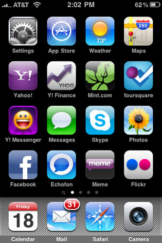 My iPhone Home Screen #homescreen