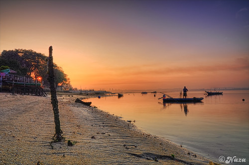 sunrise boat fisherman singapore johor lido