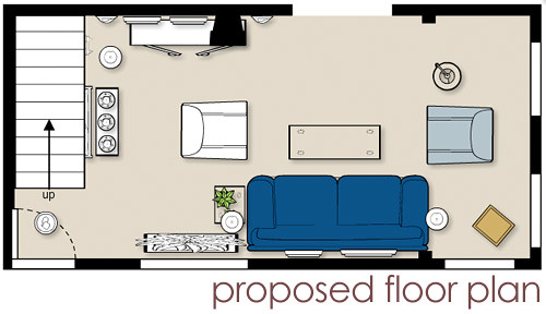 Proposed living room floor plan blogged about today for Living room floor plans