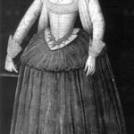 Possibly Arabella Stuart, granddaughter of Bess of Hardwick and Margaret Douglas, great grand-daughter of Margaret Tudor