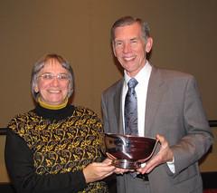 Kendall Wiggin receives Greenaway Award