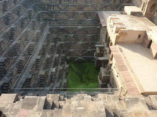 Chand Baori - The deepest step well in India by jayselley