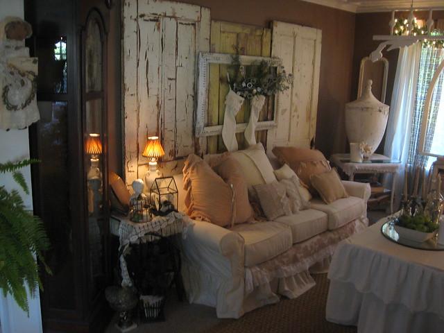 Shabby Chic Living Room   Flickr   Photo Sharing