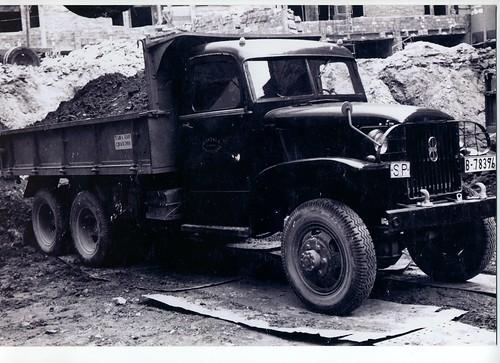 Camió GMB amb motor Barreiros diesel que va pertanyer al Sr. Gonzalo Garcia de la ciutat de Barcelona