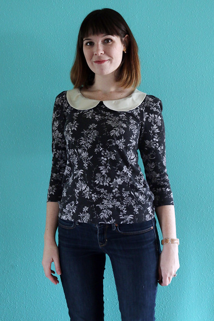 The Parisian Top by Go To Patterns