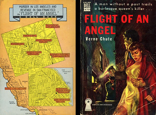 Dell Books 470 - Verne Chute - Flight of an Angel (with mapback)