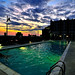 High-rise Pool in Nashville, TN. by James T Atkinson