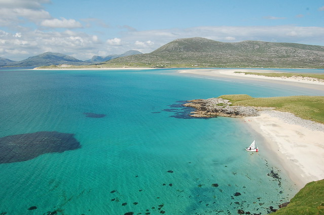 isle of harris scotland the stunning coast line on the