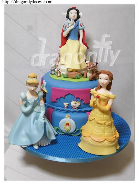 Princess Cake / Bolo Princesas