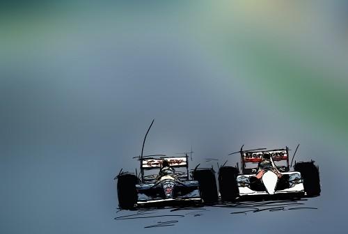Williams Mclaren Mansell Senna 1991 Flickr