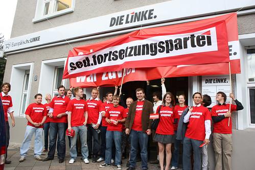 sed.fortsetzungspartei stoppen in Berlin