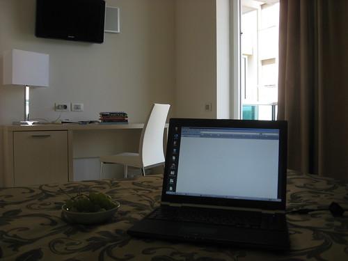 Working in Rimini