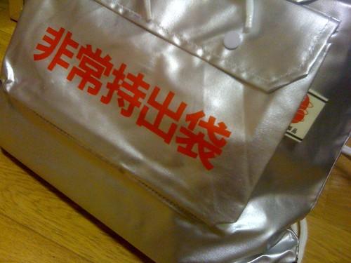 使う日は来てほしくないけど、我が家でも非常持出袋を用意しまし た。
