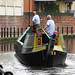 Horseboating in Manchester city centre, 07.08.09