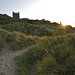 Bamburgh Castle Sunset Landscape
