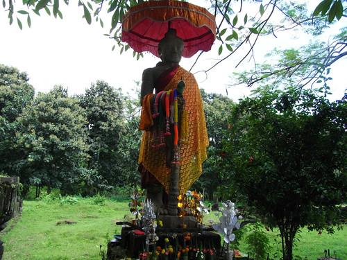 Wat Phou #05 Buddha