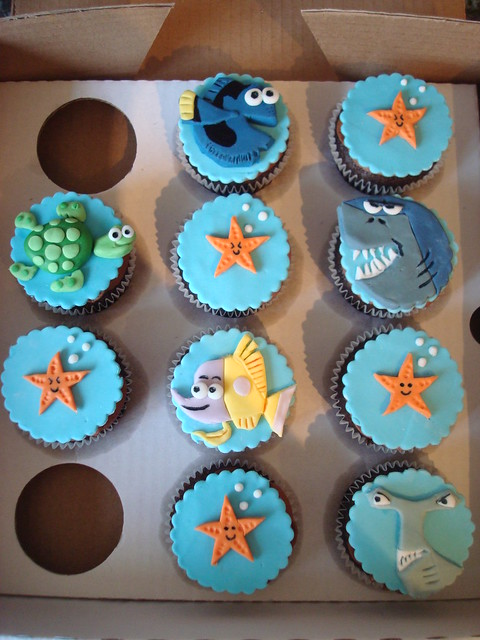 Finding Nemo Birthday Cake Decorations