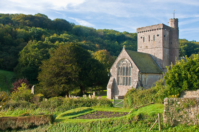 St. Winifred's, Branscombe, Devon, Oct. 2009 by PhillipC, on Flickr