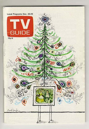TV Guide Christmas Tree