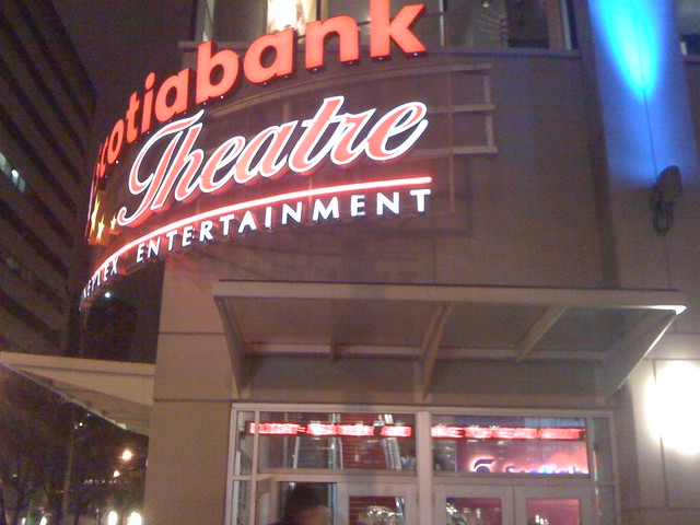 At Scotiabank Theatre now, watching Avatar in 1 hr. But lot people.
