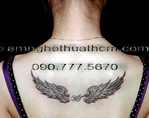 Canh Thien Than Thanh Gia Co 3d Tattoo Gie Su Chua Me Maria 14