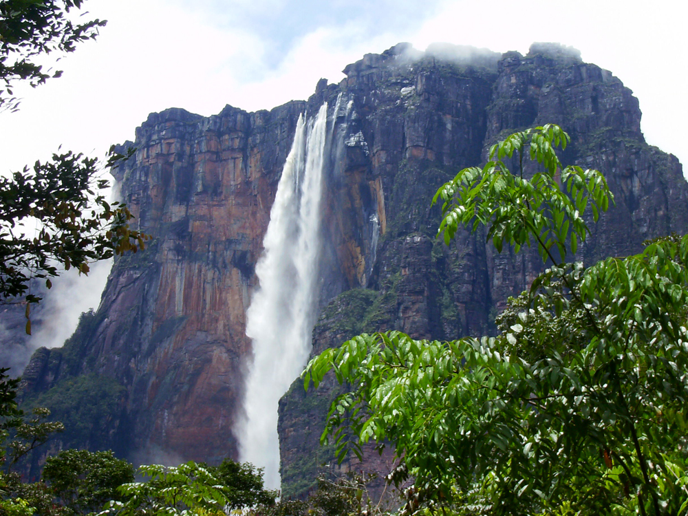 World S Highest Waterfall Canaima National Park