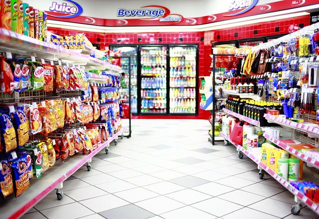 Inside a Retailer's Aisel