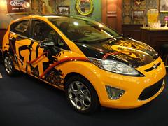 automobile, supermini, vehicle, automotive design, city car, ford fiesta, land vehicle, hatchback,
