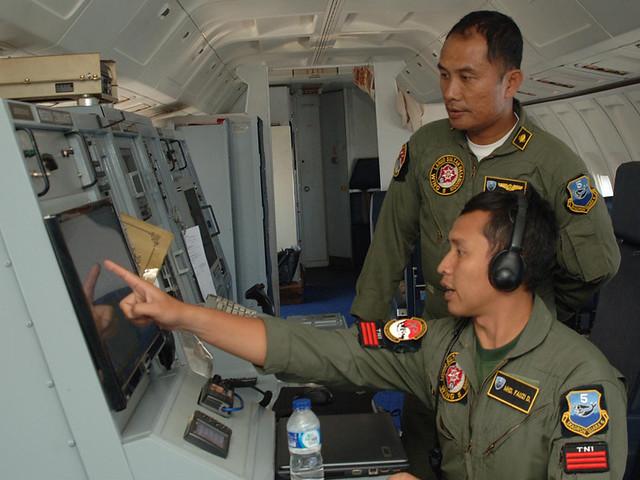 Búsqueda aérea del Vuelo MH370