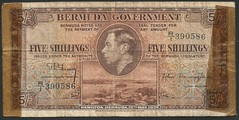 Bermuda - P8a - 5 Shillings (1937)