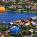 Downtown Disney from Helicopter by Corsey21
