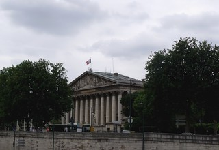 Image of National Assembly. paris france flag flags boattrip nationalassembly iledefrance bateauxmouches riverseine rivercruise frenchflag assembleenationale quaidorsay palaisbourbon assembléenationale frenchgovernment deputies jeanpierrecortot juleshardouinmansart députés chamberofdeputies maisondeplaisance constituentassembly nationallegislativeassembly nationalassemblyoffrance hoteldelassay louisefrançoisedebourbon lowerhouseofthebicameralparliamentoffrance duchessedebourbon lorenzogiardini councilofthefivehundred princedecondé