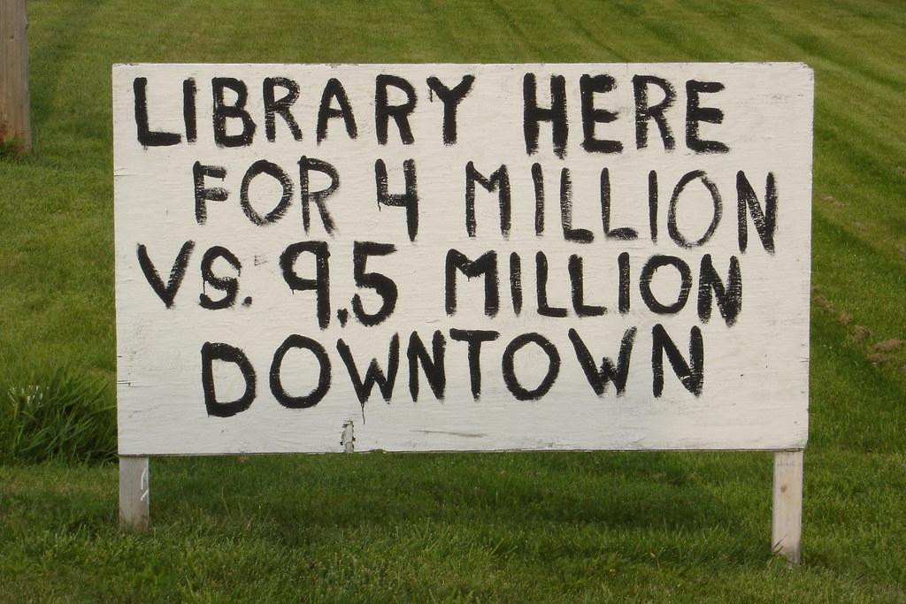 LaGrange library controversy