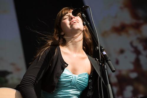 Marit Larsen på Øyafestivalen