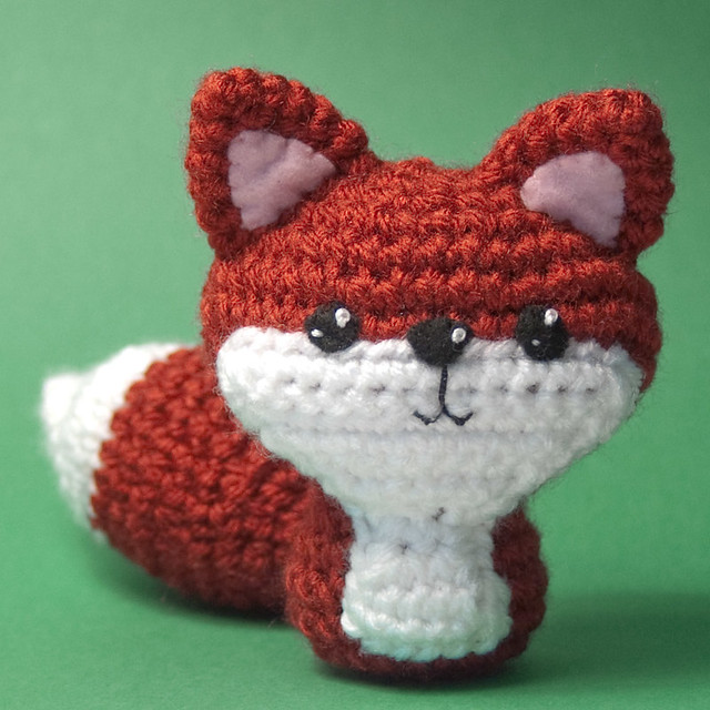Amigurumi Strawberry Girl Free Pattern : Crocheted Fox Flickr - Photo Sharing!