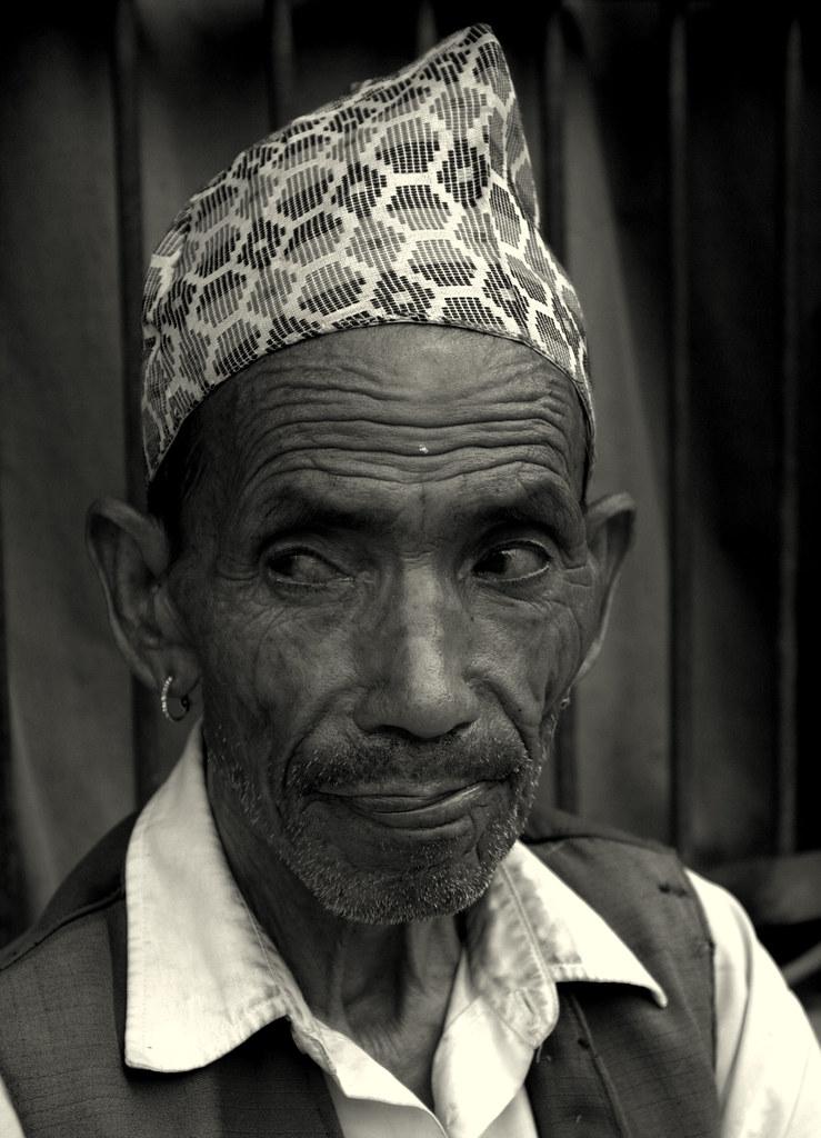 A Nepali Man In Patan