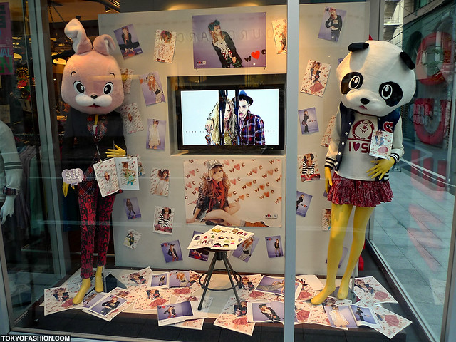 Cute shibuya window display flickr photo sharing for Cute display pictures