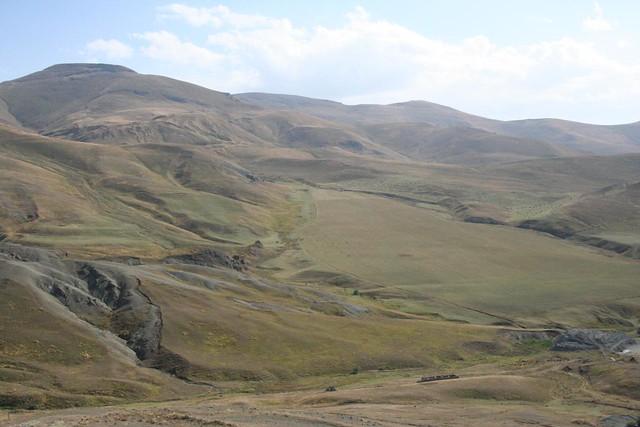 Fotografias caminho Lago Sevan, fronteira Nagorno Karabakh, Arménia