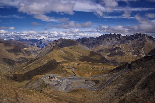 Spectacular Sight from Col du Galibier
