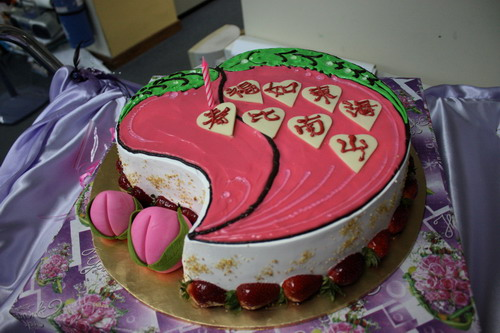 Birthday Cake Images For Auntie : Happy Birthday Auntie Lai Ming Big Boys Oven