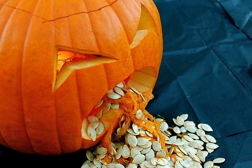 Pukey The Pumpkin