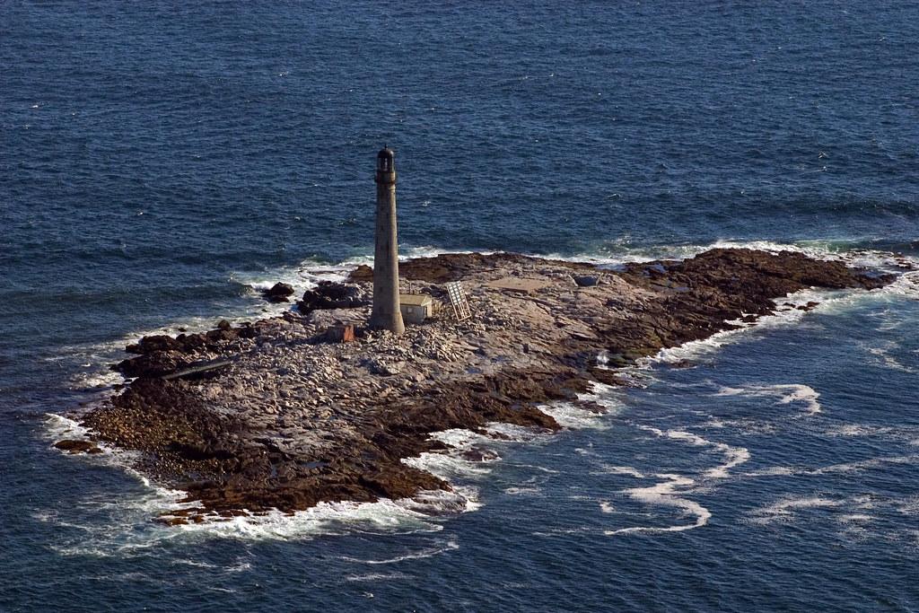 Boon Island aerial view